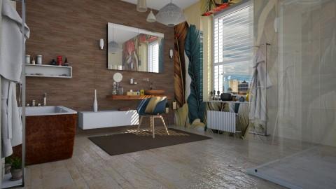 Leaf - Modern - Bathroom  - by katarina_petakovi