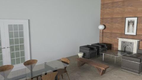 Gochanour_Cherner - Modern - Living room - by mshockley