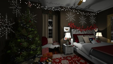 christmas room - by karinlonza