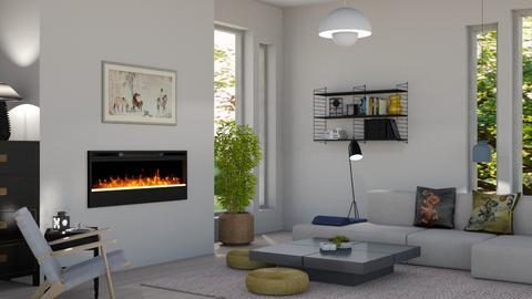Japandi_Contest_mikaelahs - Living room  - by mikaelahs