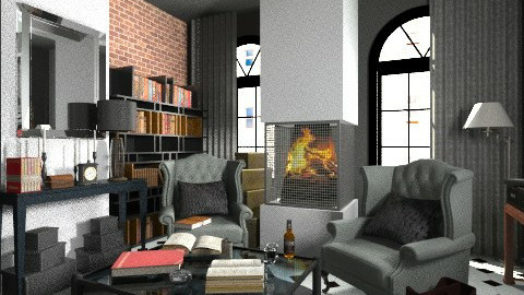 Sherlock - Vintage - Living room  - by deleted_1520806422_Roxy