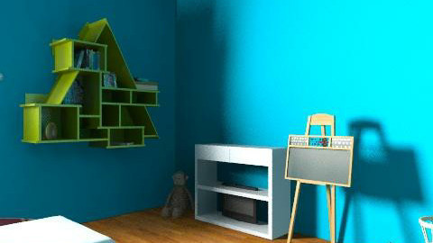 Brody Monteiths bedroom - Eclectic - Kids room  - by amberlyg