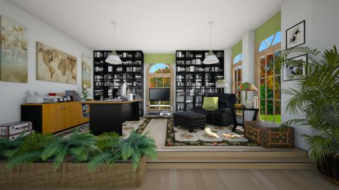 Pedros Corner - Masculine - Office  - by Joao M Palla