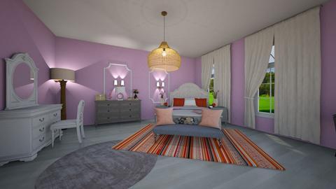 Girls Bedroom - Bedroom  - by flowerghurl