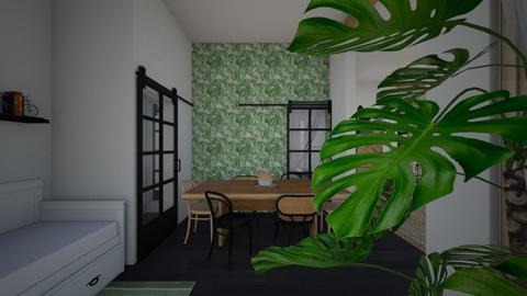 Nature_dining room - Living room  - by lovasemoke