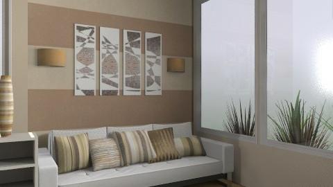 Cinnamon - Classic - Living room  - by idna