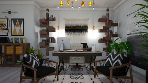 Bohemian Office - Office  - by matina1976