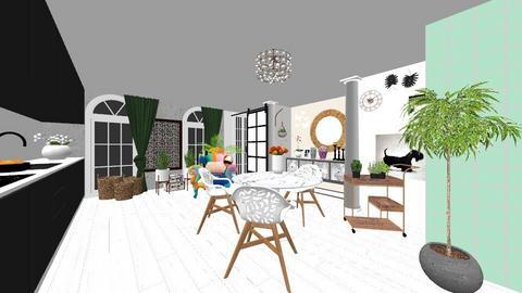 mod11 - Kitchen - by memmi
