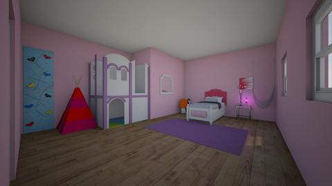 little girls room - Classic - Kids room  - by kholland08