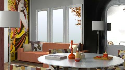 retro deco - Retro - Living room  - by hunny