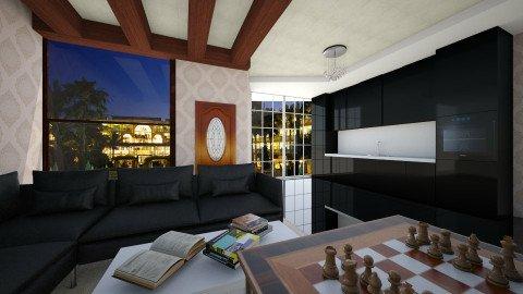 kitchenn Linda - Modern - Dining room - by Boka i Deki