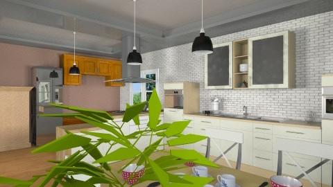 lighty wood - Retro - Kitchen  - by Veny Mully