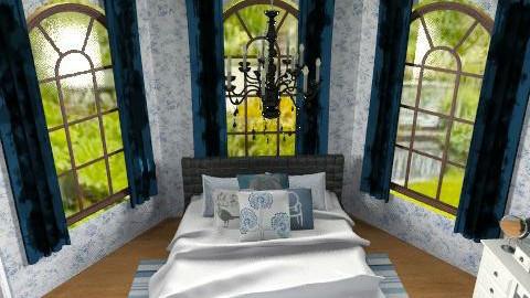 Guest Bedroom - Eclectic - Bedroom  - by vanessa_designs