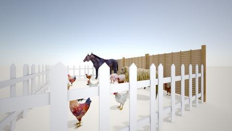 farm - Garden  - by foxxie