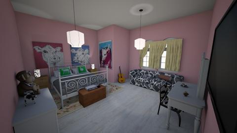 Melindas room - Bedroom  - by skye245