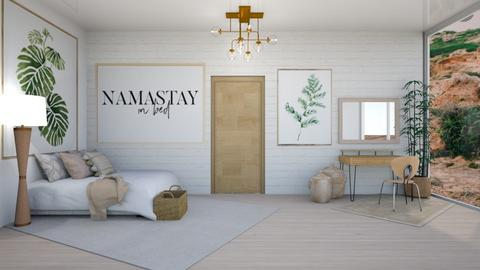 Calm Colm - Modern - Bedroom  - by LuluDesignStyle
