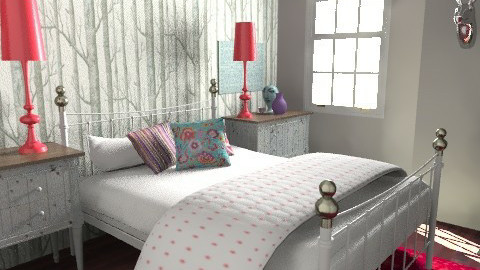 B&Q eclectic - Eclectic - Bedroom - by pia