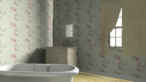 Antique bathroom - Vintage - Bathroom - by PrincessDecember