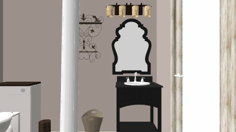 Guest Bathroom - Vintage - Bathroom  - by Frosted