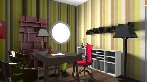working place - Eclectic - Office  - by fco_alfonso