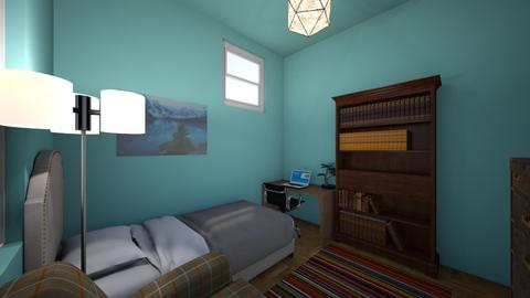 Visual comm task 2 - Bedroom  - by cal0018