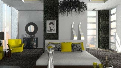 Lady glam - Bedroom  - by liling