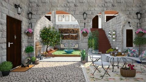 patio - Garden  - by Joao M Palla