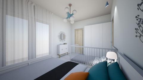 dormitor 2 - Bedroom - by andreiaionescu