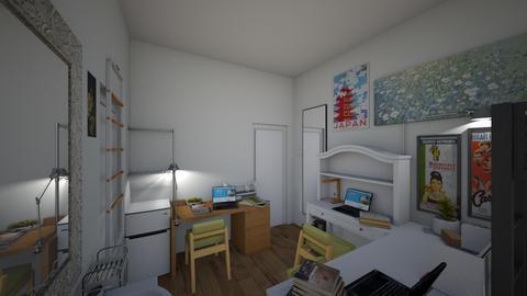 CollegeRoom_freshmen pt2 - Bedroom  - by akishi