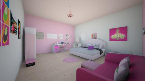 A girly bedroom - Glamour - Bedroom - by sahdiyahussain