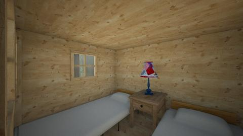 Mini Cabin - Bedroom  - by SammyJPili