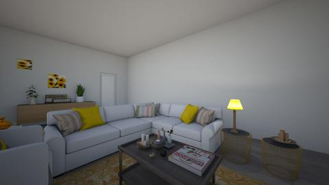 Living Room Design - Living room - by Delwolves