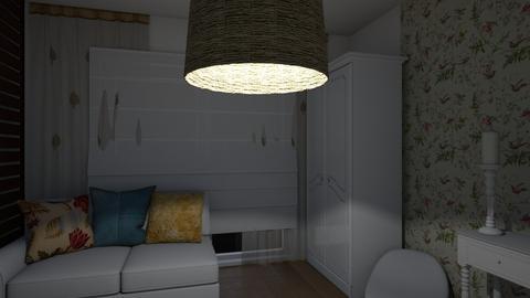 safari2 - Bedroom  - by louiseschweitz