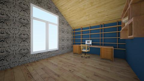loft office - Office - by Georgieex