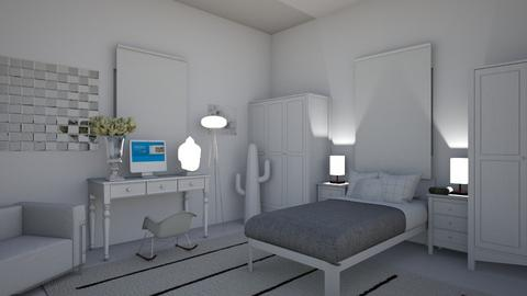 minimal - Minimal - Bedroom  - by hello hi hello