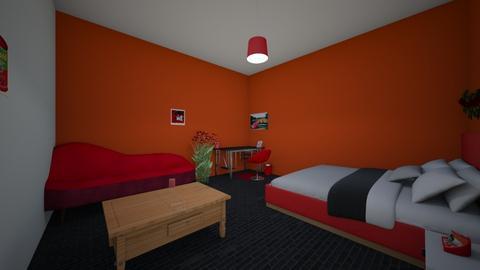 Pomagranite  - Bedroom  - by OliverTheWizard