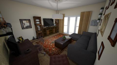 living room new - Eclectic - Living room - by pinklilith