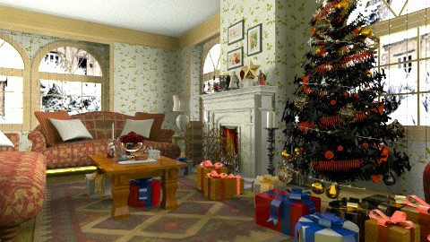 Christmas day - Country - Living room  - by XValkhan