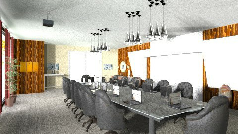 Eclectic Boardroom - Eclectic - Office  - by decordiva1