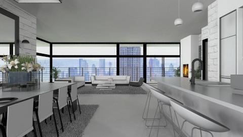 Livingroom009 - Modern - Living room  - by Ivana J