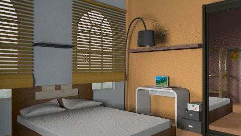 bedroom211 - Country - Bedroom  - by nicky_poladova