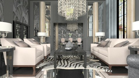 Gatsby - Eclectic - Living room  - by liling