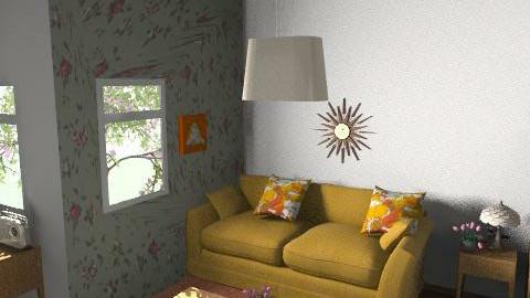 retro living room  - Retro - Living room  - by tonirsweet