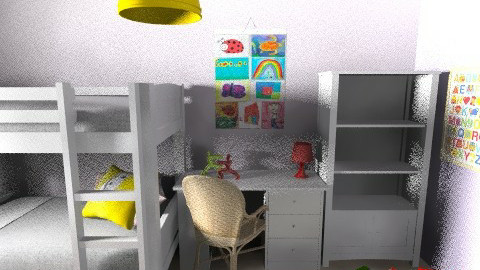 Lia_Itay_9d - Classic - Kids room  - by noga boyarsky