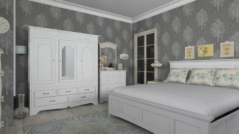 French country - Country - Bedroom  - by milyca8