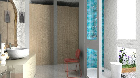 Shower_Dressing - Modern - Bathroom  - by 3rdfloor