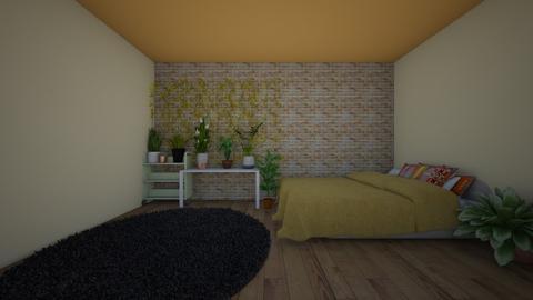 boho aesthetic room - Bedroom  - by MillieBB_fan