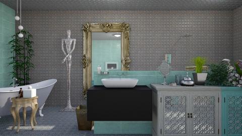 TMB - Glamour - Bathroom - by augustmoon
