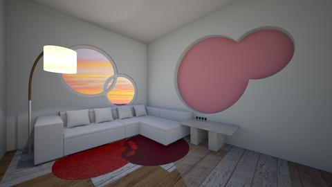 Red Bubble - Modern - Living room  - by Daisydesigner