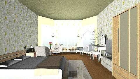 empy_puia bedroom - Vintage - Bedroom  - by empypuia